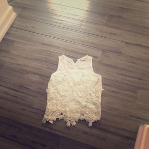 Anthropologie top blouse t shirt Old Navy sandals